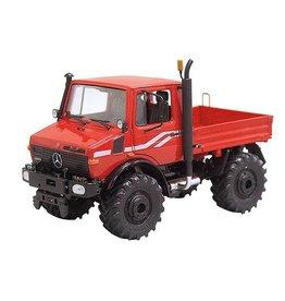 Schuco Schuco 07726 - Unimog U 1600 rood/oranje 1:32