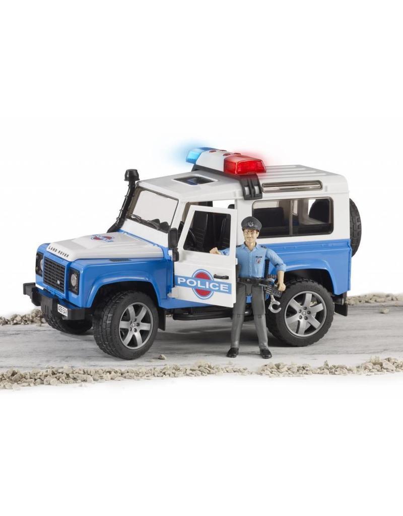 Bruder Bruder 2595 - Politie Jeep met politieagent en accessoires
