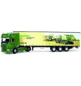 Universal Hobbies Universal Hobbies Scania R580 met trailer Krone Big Pack 1:50