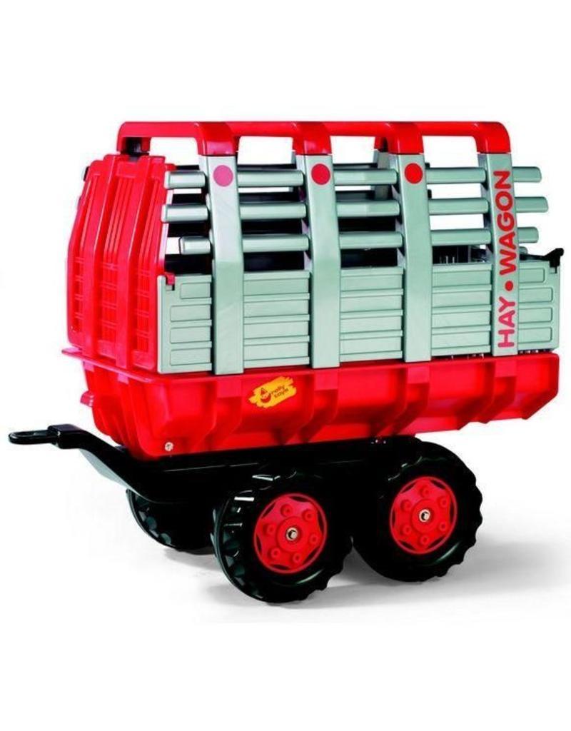 Rolly Toys Rolly Toys 122820 - Hooiwagen rood, tandemasser