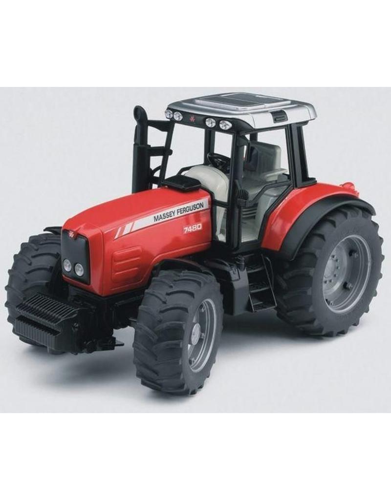 Bruder Bruder 2040 - Massey Ferguson 7480 traktor