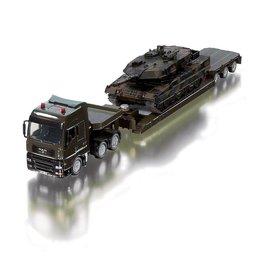 Siku Siku 8612 - Militair Zwaartransport met Pantzer tank 1:50