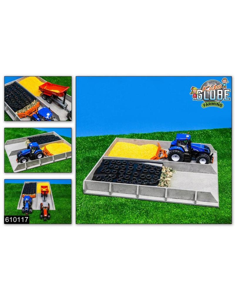 Siku Kids Globe 610117 - Mais / graskuil grijs betonlook (1:32 / Siku)