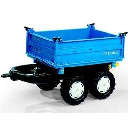 Rolly Toys Rolly Toys 121106 - Mega Trailer blauw
