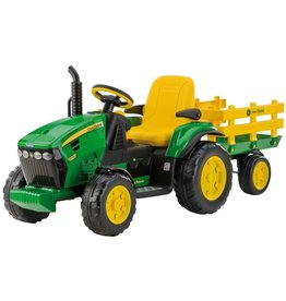 Peg-Pérego Peg Perego OR0047 - John Deere 12V Ground Force met aanhanger