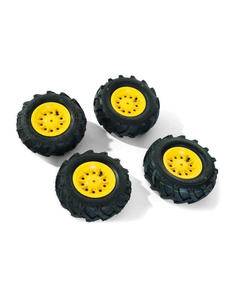 Rolly Toys Rolly Toys Luchtbanden GEEL voor Tractoren RT7xx serie (4 stuks)