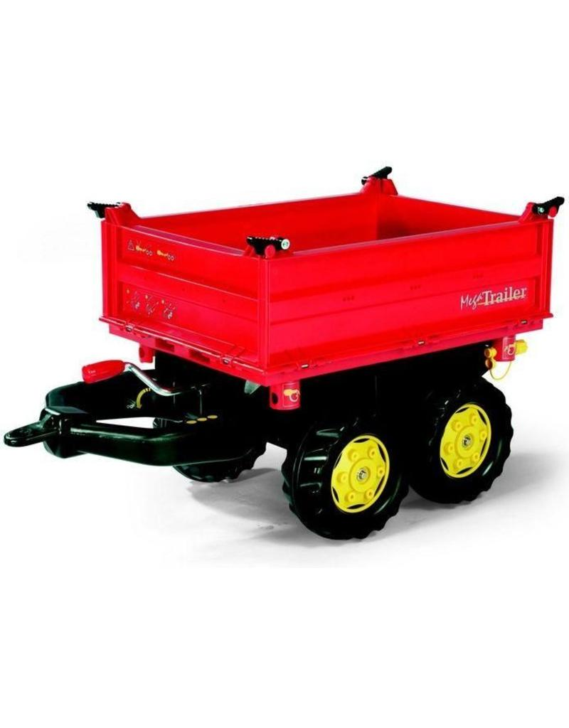Rolly Toys Rolly Toys 123001 - Mega Trailer rood