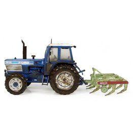 """Universal Hobbies Universal Hobbies Ford TW-25  + Bomford """"Superflow"""" ploeg - muddy version 1:32"""