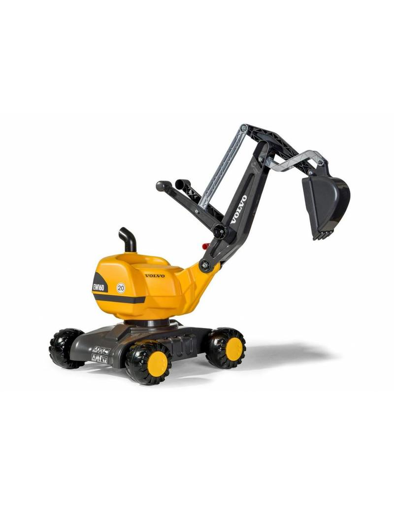 Rolly Toys Rolly Toys 421084 - Rolly Digger Volvo geel op 4 wielen