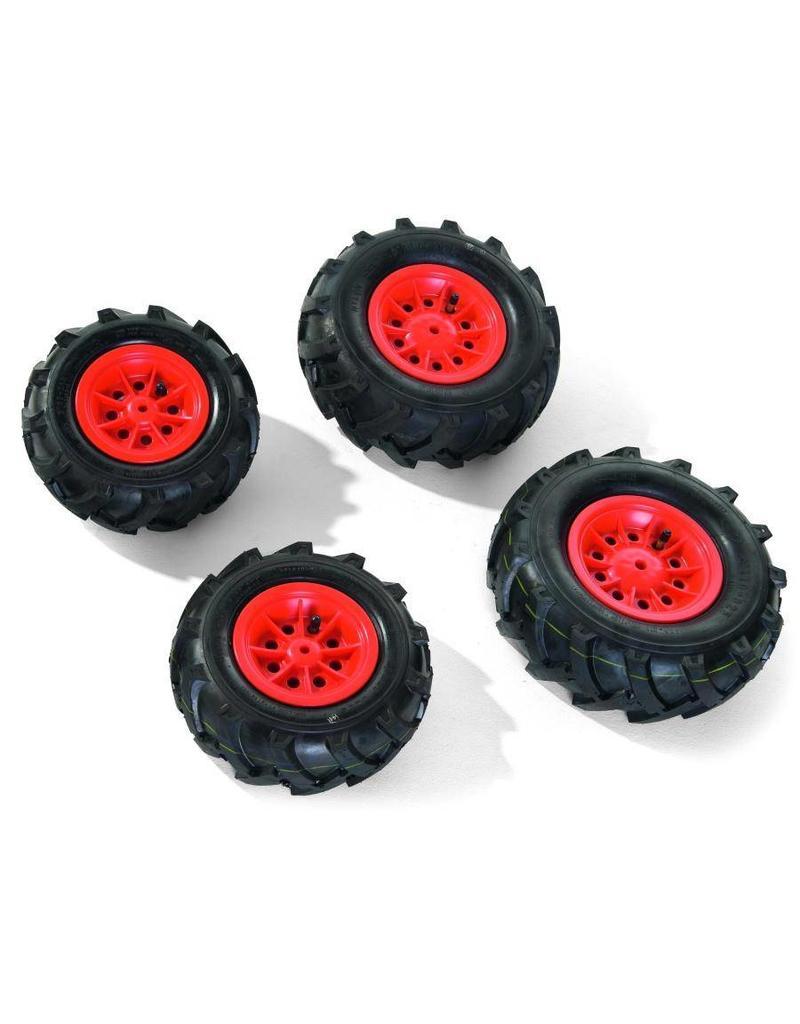Rolly Toys Rolly Toys Luchtbanden Rood voor Tractoren RT6.. & RT8.. (4 stuks)