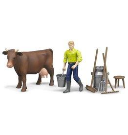 Bruder Bruder 62605 - Figurenset boerderij