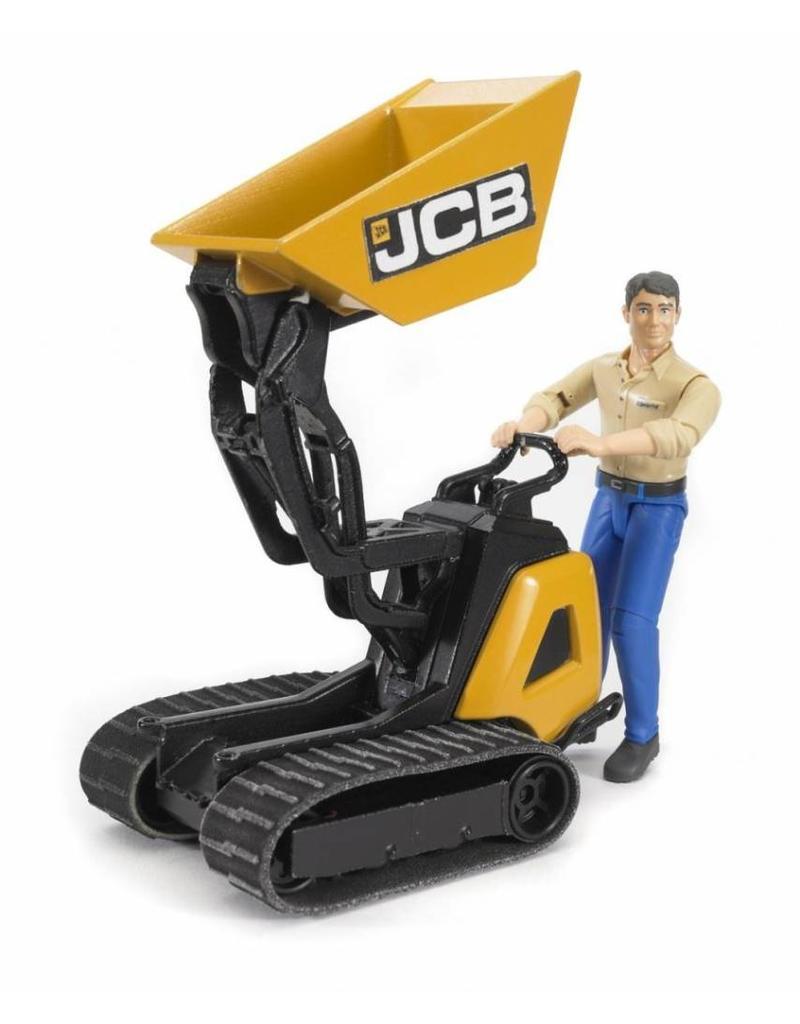 Bruder Bruder 62004 - JCB dumper HTF 5 met machinist