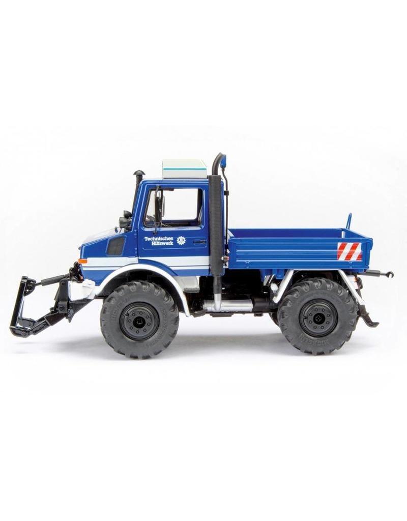 Schuco Schuco 07613 - MB Unimog U1600 THW 1:32