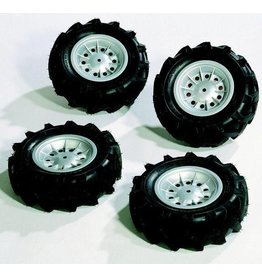Rolly Toys Rolly Toys 409181 -Luchtbanden Zilver voor Tractoren RT3.. & RT 4.. en Unimog (4 stuks) muv X-trac's