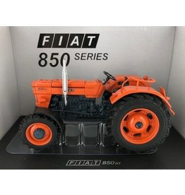 Universal Hobbies Universal Hobbies 5297 - Fiat 850 DT Super (oranje velgen) - Limited Edition 1:32