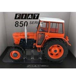 Universal Hobbies Universal Hobbies 5298 - Fiat 850 DT Super (oranje velgen) -Cabine - Limited Edition 1:32