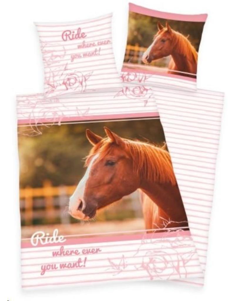 Dekbedovertrek Paard