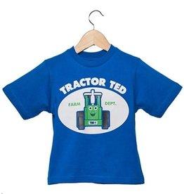 Tractor Ted Tractor Ted - T-shirt Blauw - 5-6 jaar