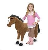 Pluchen paard