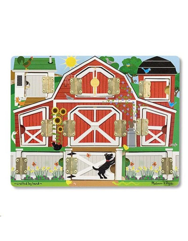 Magneetpuzzel zoek en vind boerderij