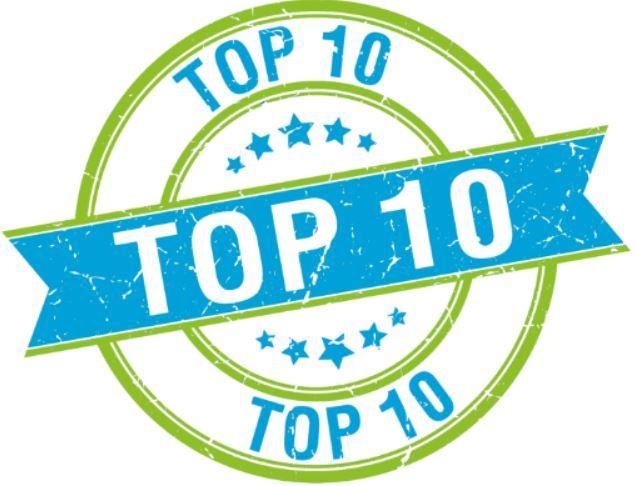 Top 10 best verkochte artikelen