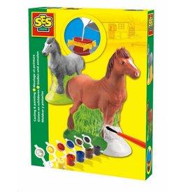SES Figuren gieten en schilderen - paard