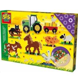 SES Strijkkralen boerderij