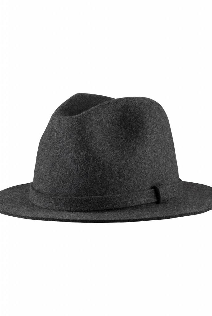 Alizée hat charcoal grey