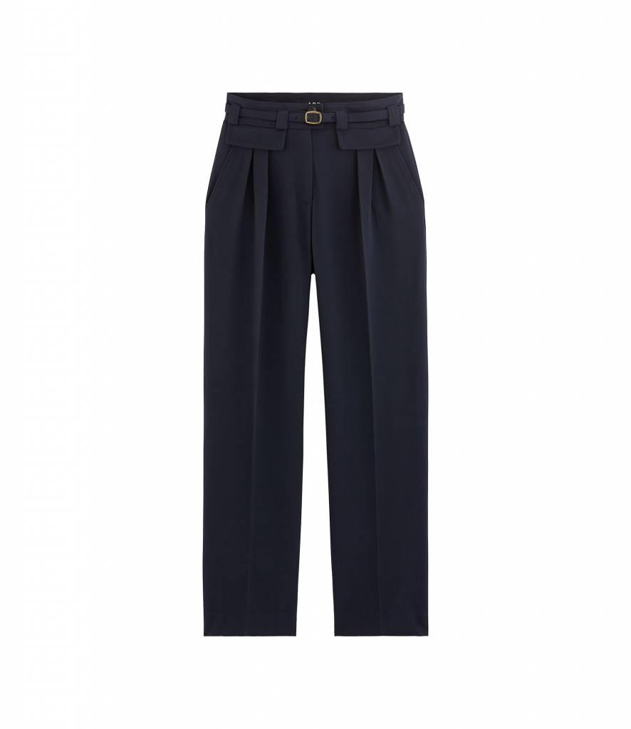 A.P.C. Isa pantalon marine