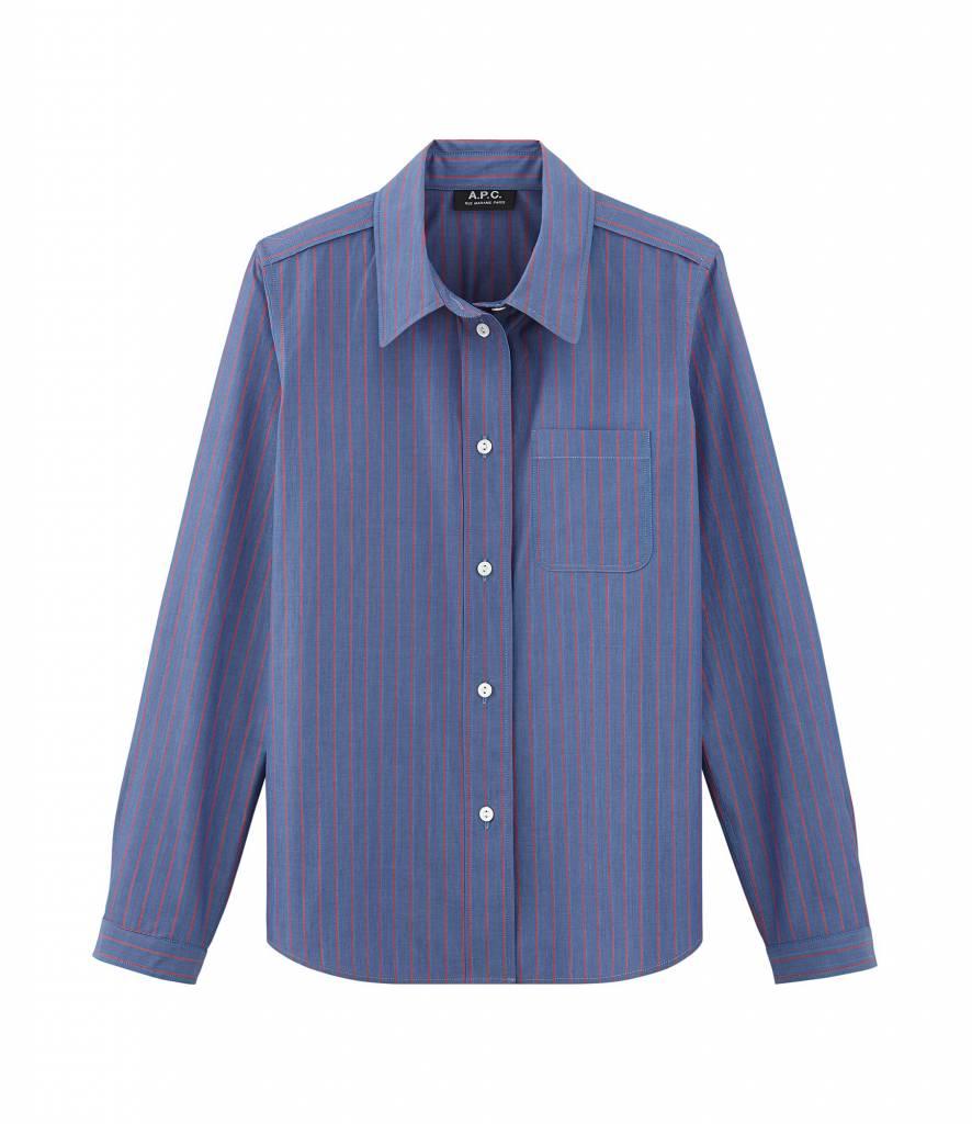 A.P.C. Lenka blouse striped