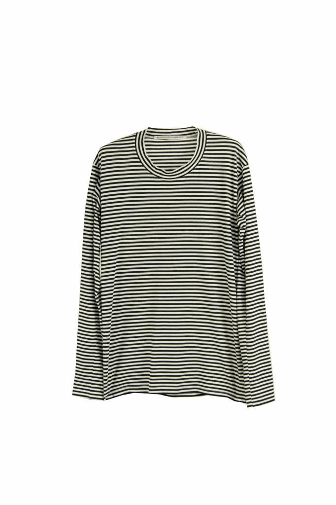 Monique van Heist Sweater S black white stripe