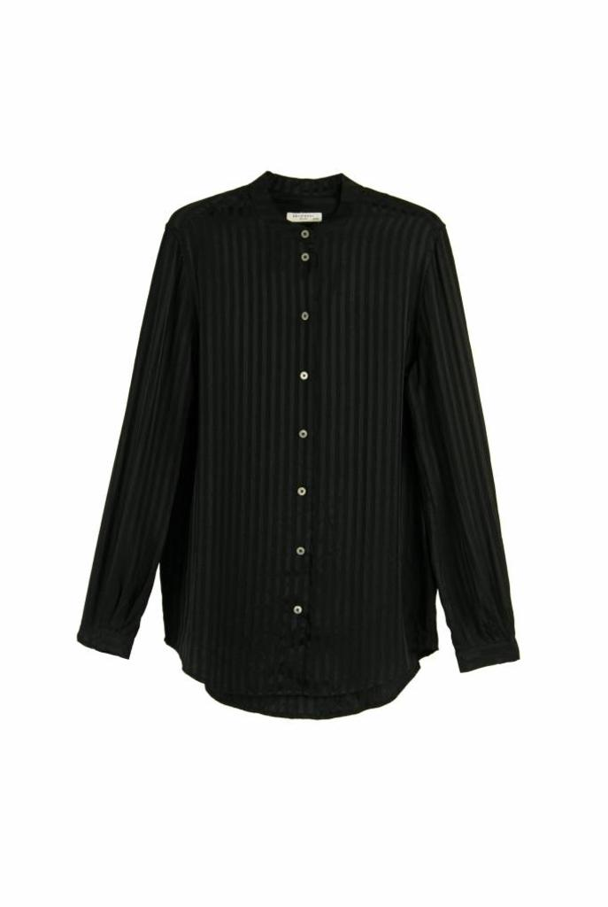 Henri blouse true black stripe