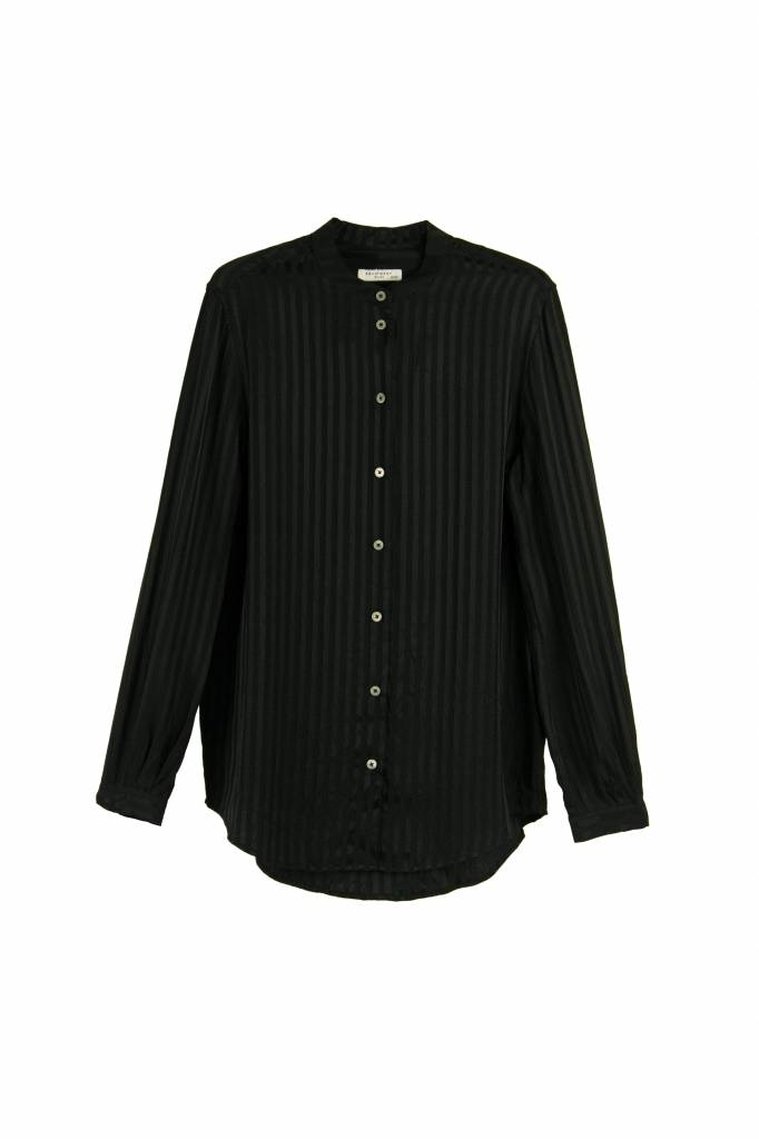 Equipment Henri blouse true black stripe