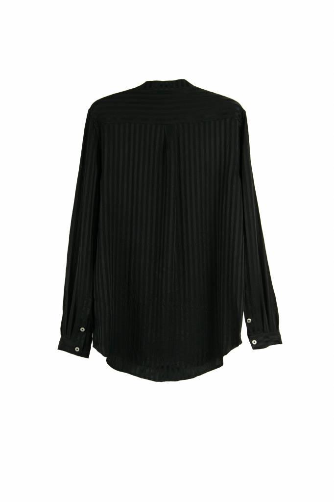 Henri blouse true black stripe