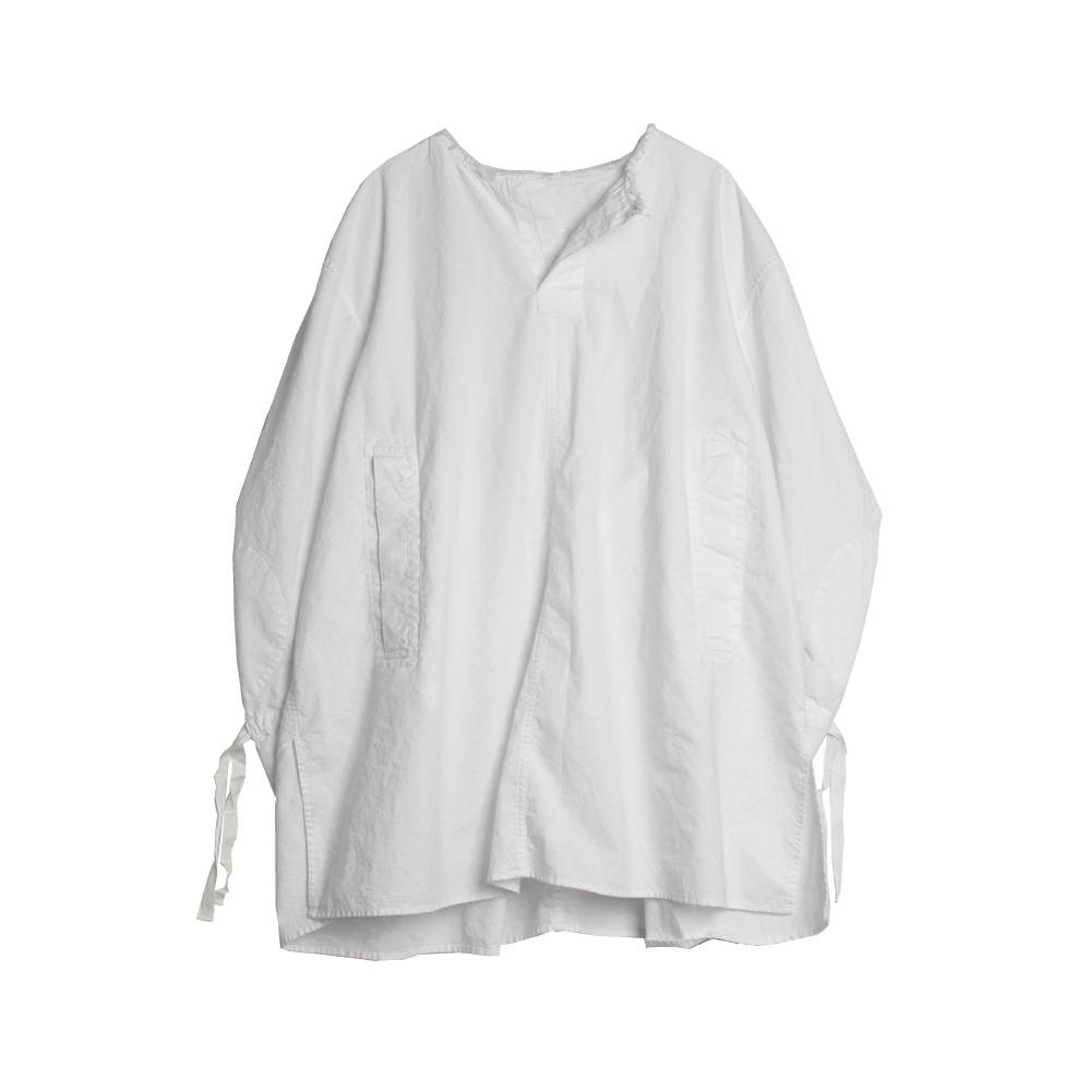 Stand Aloné Oversized shirt white