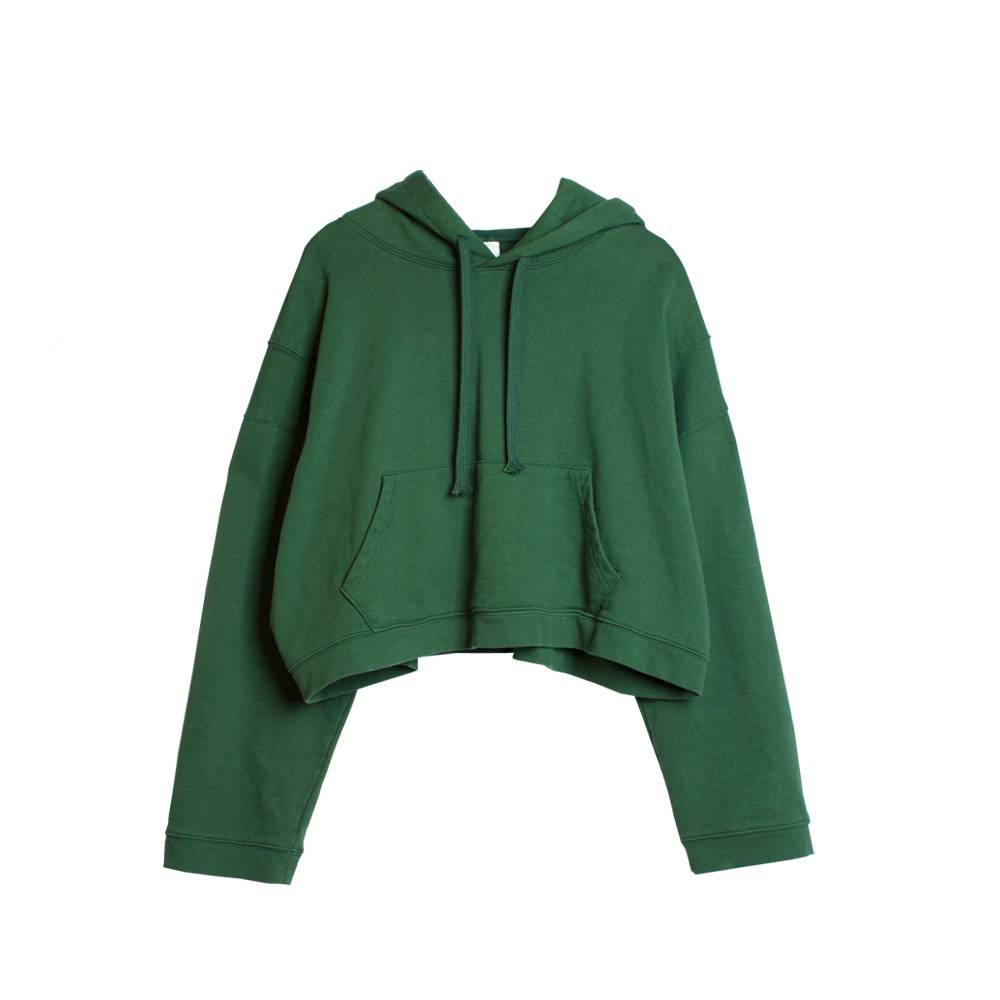 Stand Aloné wide sleeve cropped hoodie
