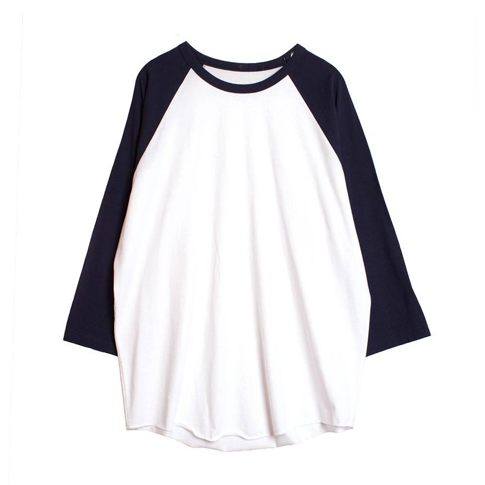 Stand Aloné raglan t-shirt white navy