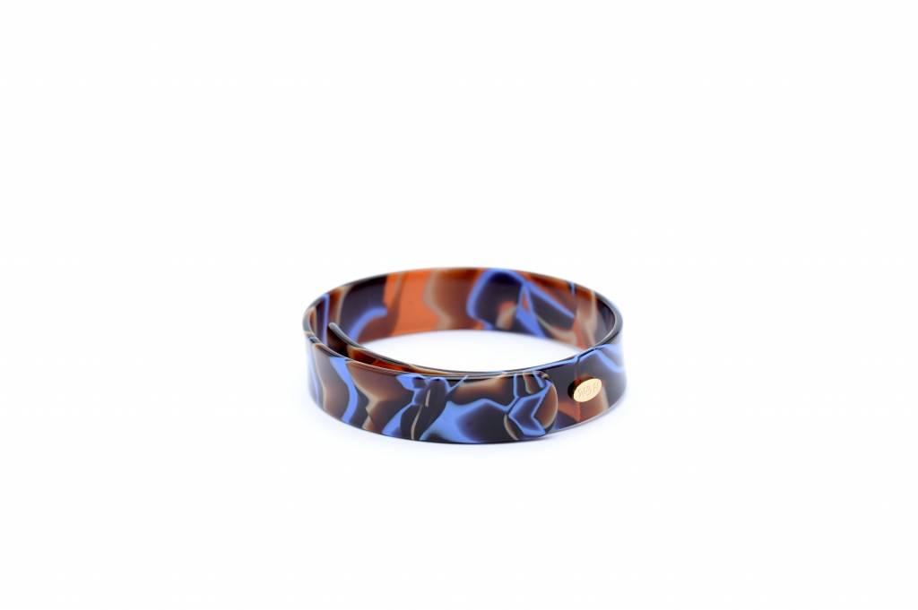 Wouters & Hendrix fine blue perspex bracelet