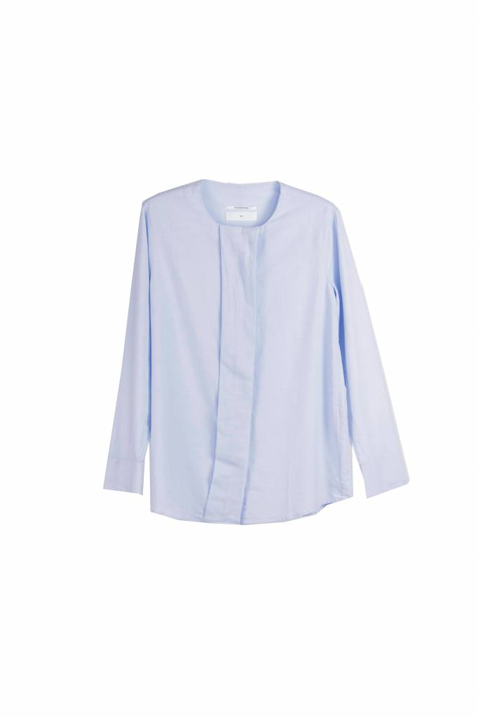 Pomandère blouse light blue