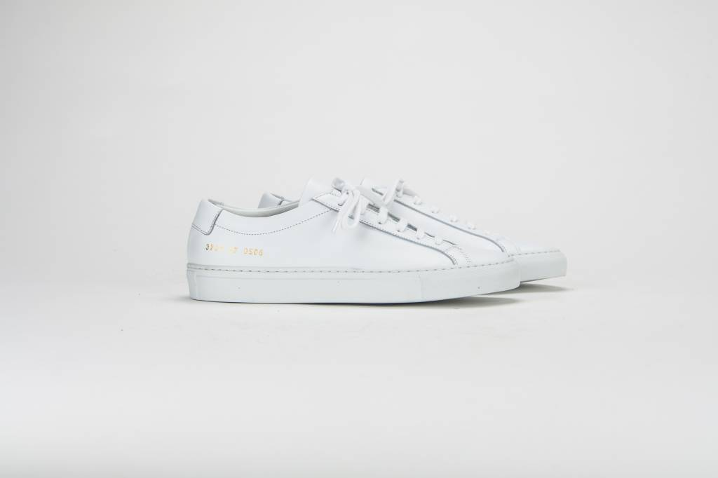 Common Projects Achilles low sneaker white