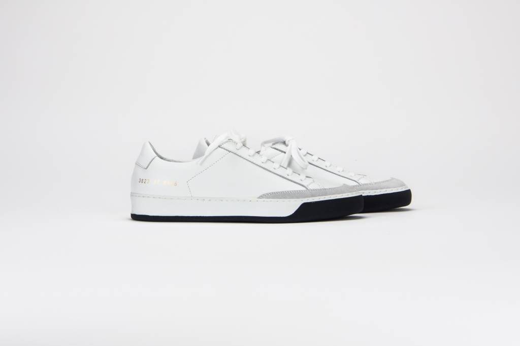Common Projects Tennis pro sneaker black and white