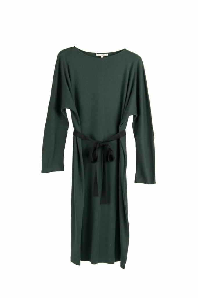 Rue Blanche Cotwool dress cedar