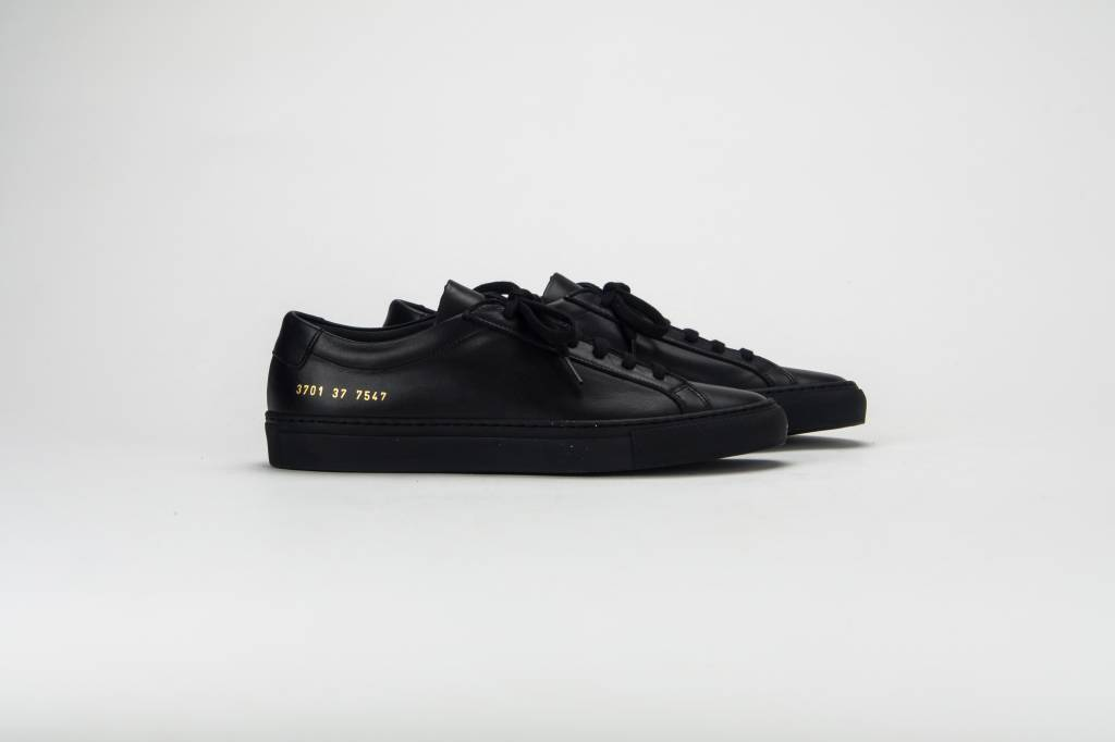 Common Projects Achilles low sneaker black