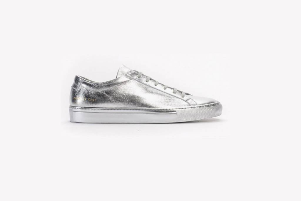 Common Projects Achilles low sneaker silver