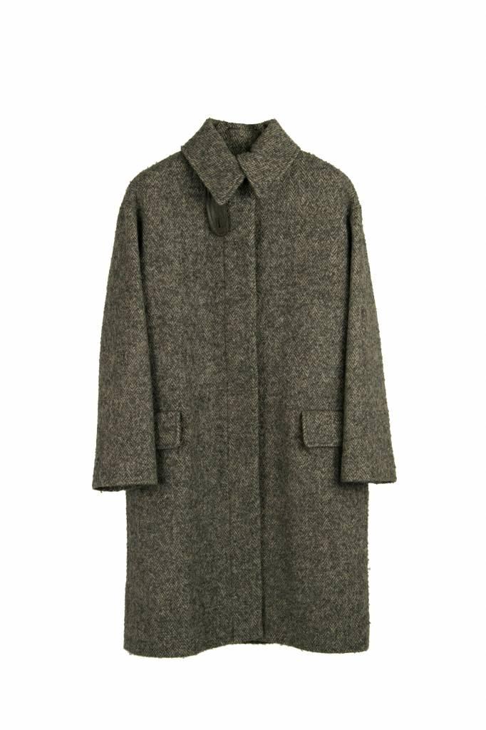 Vanessa Bruno Haaron coat grey melee