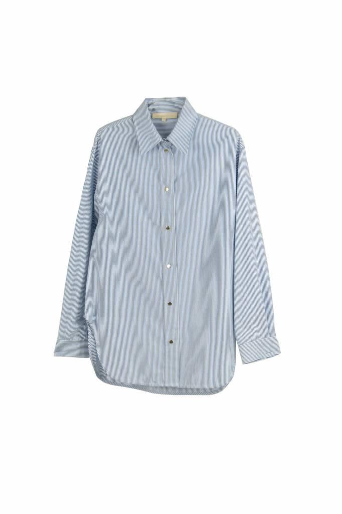 Vanessa Bruno Helianne blouse blue stripe