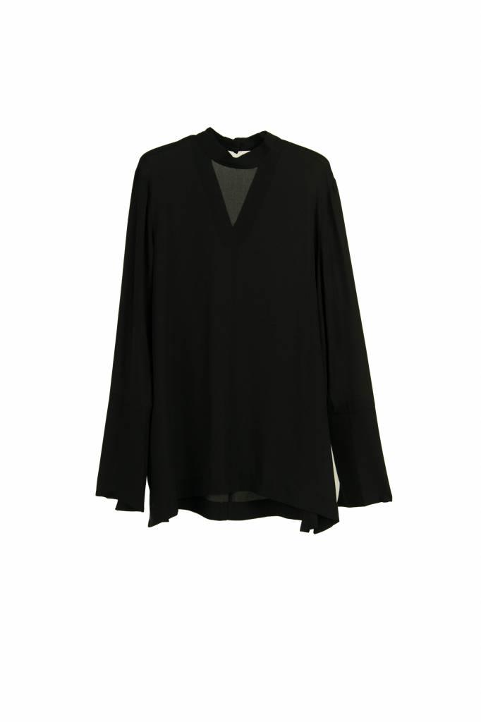Kokoon Hanna blouse black silk