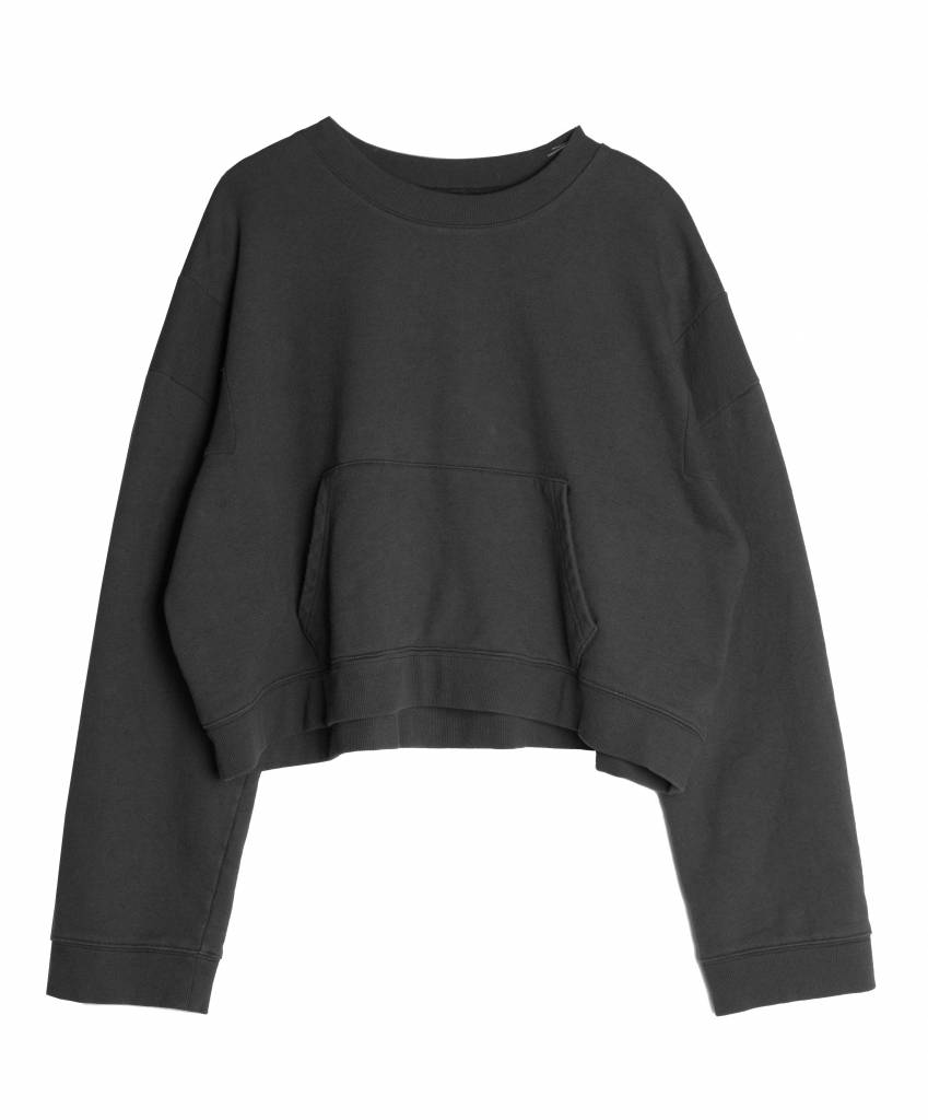 Stand Aloné kangaroo sweater cropped