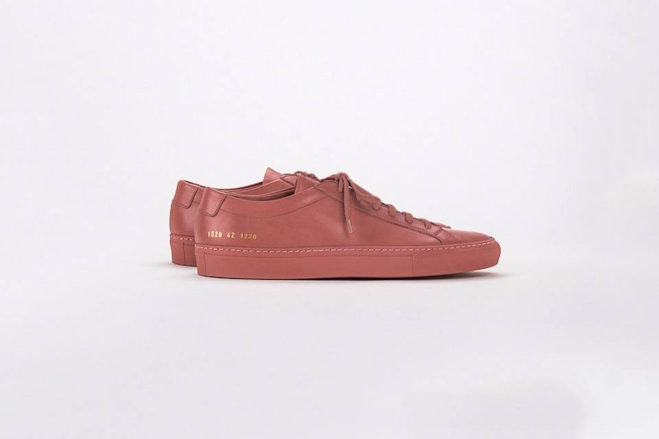 Common Projects Achilles low sneaker antique pink