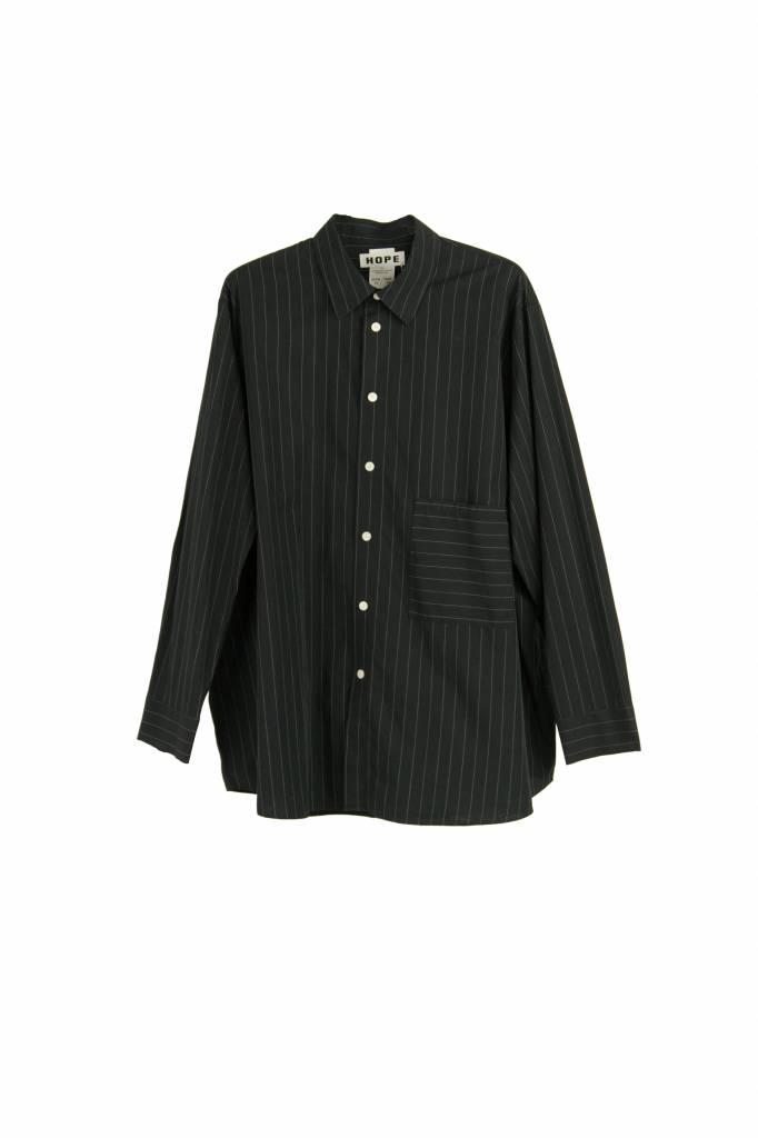 Hope Elma blouse black stripe